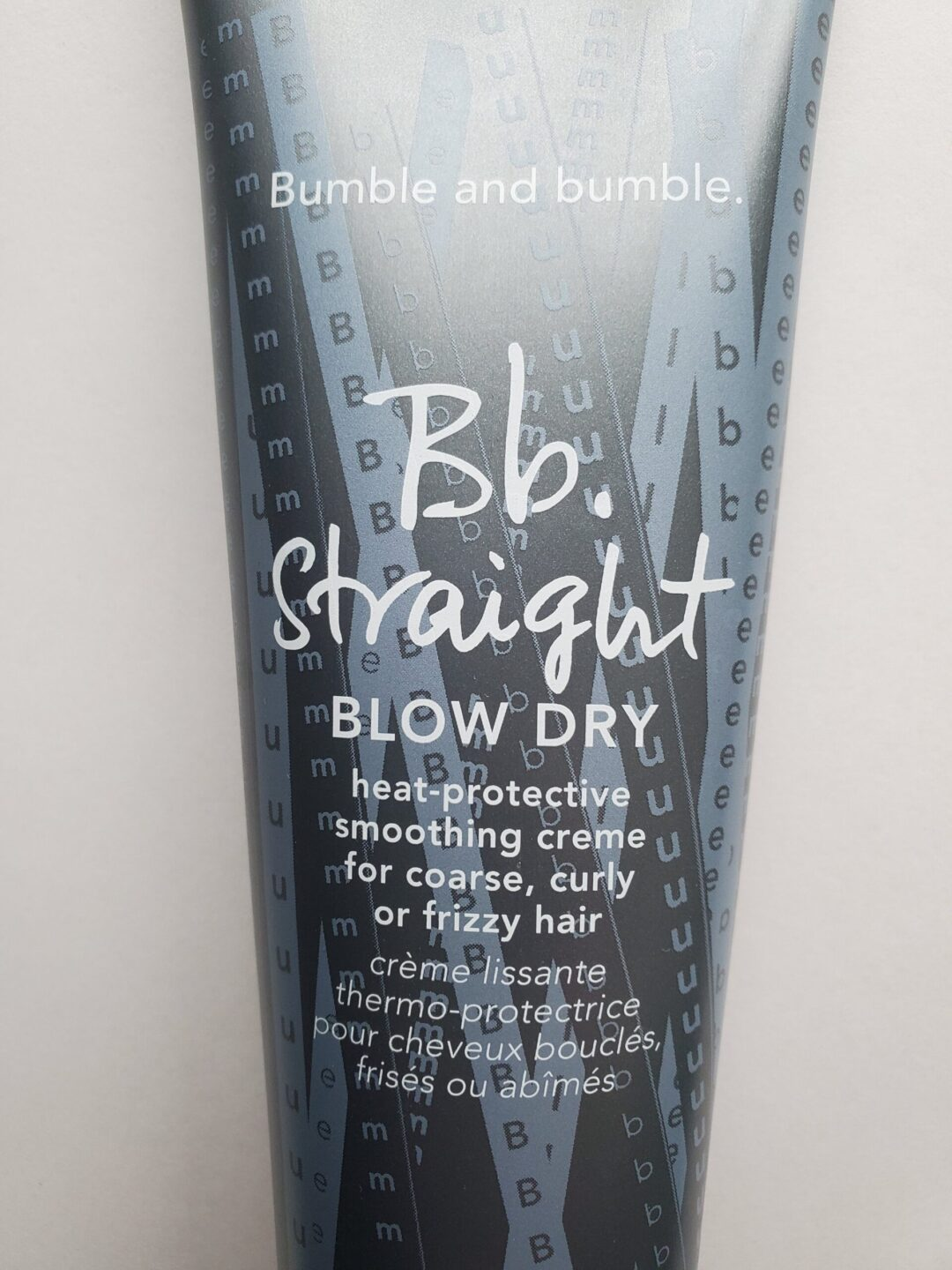 Bumble and Bumble's Straight Blow Dry Creme is Revolutionary
