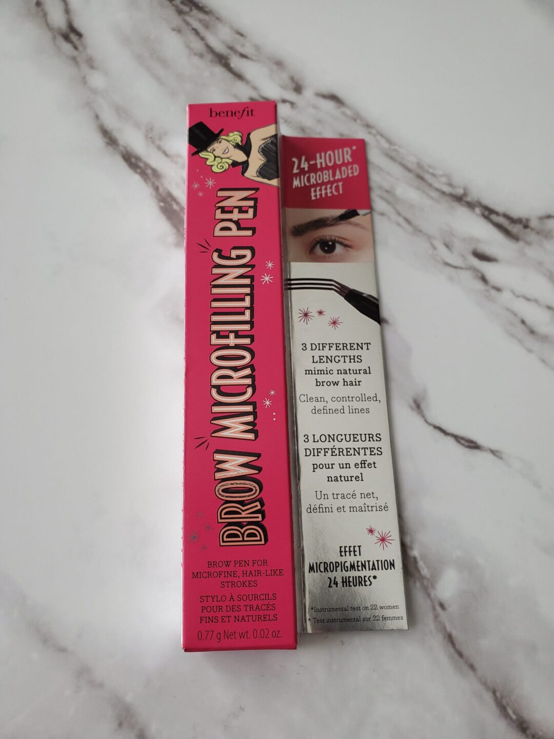 benefit microfilling brow pen