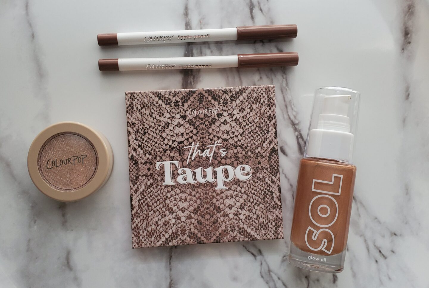 colourpop that's taupe